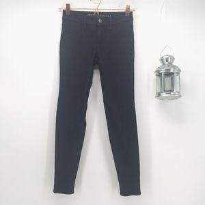 AEO Black Skinny Super Stretch X Jeggings